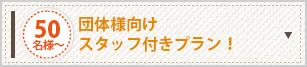 団体様向けスタッフ付きプラン!
