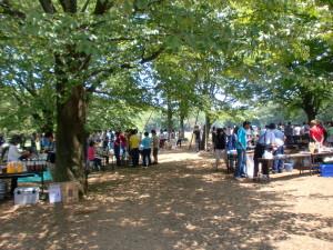 小金井公園でBBQをしよう!内のイメージ