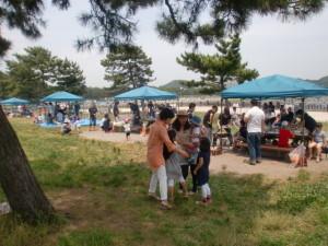 海の公園でBBQをしよう!内のイメージ