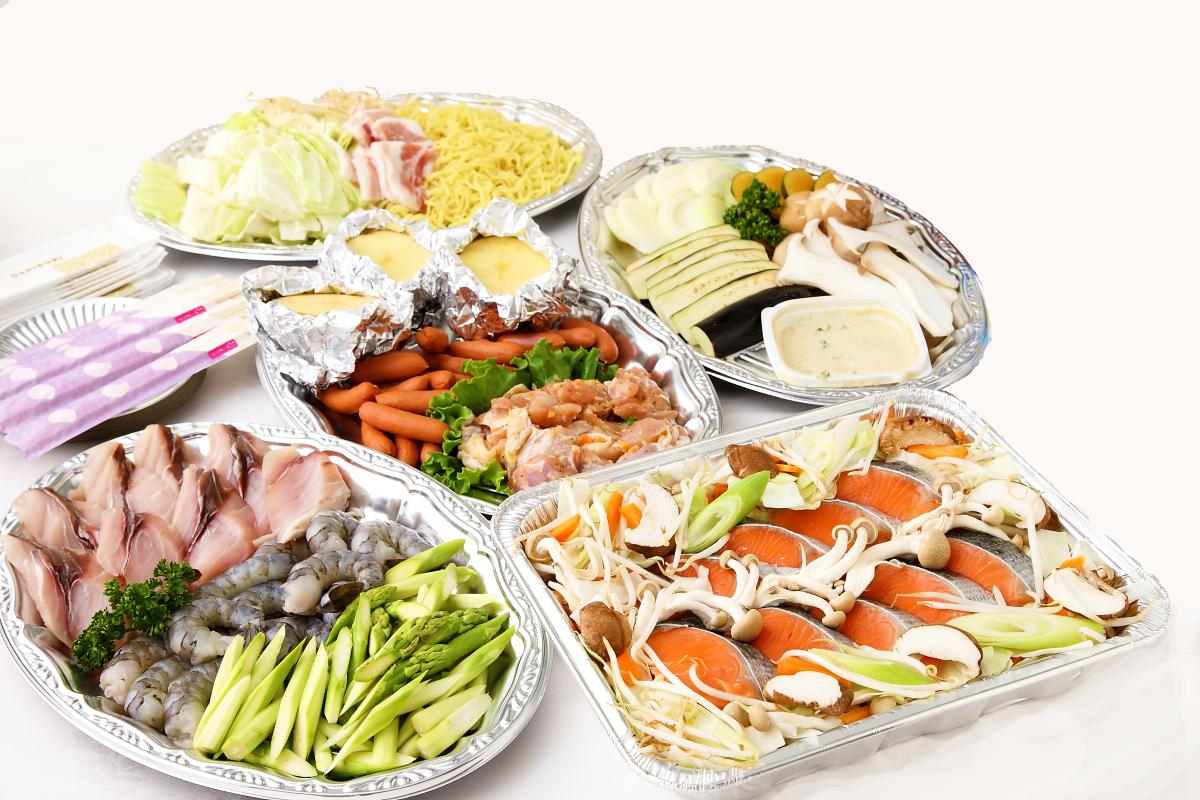 お野菜&シーフードプラン